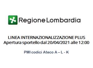 metagorà - bando Linea Internazionalizzazione Plus Regione Lombardia