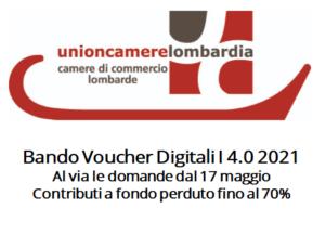 metagorà - bando voucher digitali 4.0 2021 Regione Lombardia