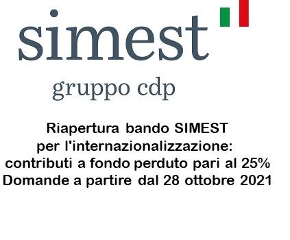 metagorà: internazionalizzazione - nuova riapertura fondo SIMEST con contributi a fondo perduto per servizi di Temporary Export Manager
